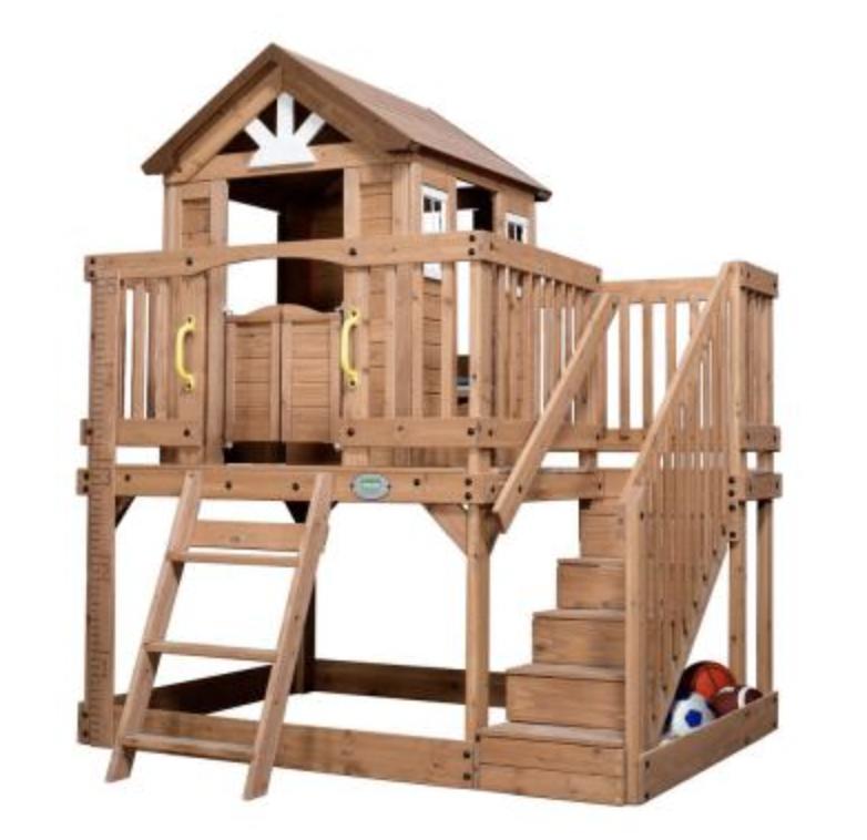 Vaikiški mediniai nameliai